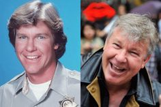 Larry Wilcox - best known for his role in CHiPs.
