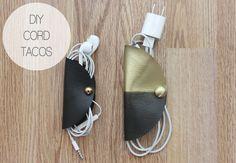 DIY: cord tacos