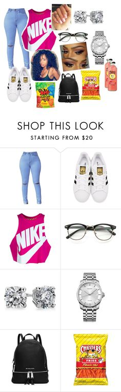 """First Day of Hell"" by mami-taylor on Polyvore featuring adidas Originals, NIKE, Blue Nile, Calvin Klein and MICHAEL Michael Kors"