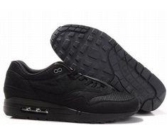 Nike Air Max 1 Black Black Men's Sneakers