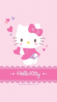 ✿Duitang ~ iPhone6 Plus Hello Kitty.