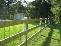 Lowes 3 Rail Wooden Fence | Split-Rail Fencing « Dixie Fence (423) 453-8060