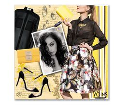 """""""Yoins 4"""" by tanja133 ❤ liked on Polyvore featuring Yves Saint Laurent, Juliska, yoins, yoinscollection and loveyoins"""