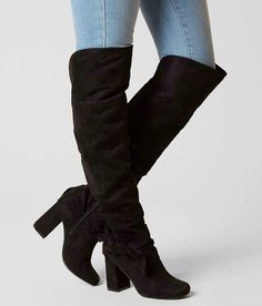 Not Rated Totoro Boot - Women's Shoes in Black Winter Club Outfits, Not Rated Boots, Side Zip Boots, Cute Boots, Shoe Size Conversion, Totoro, Western Boots, Lana, Heels