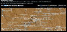 G.A.B.I.E.: El mapa de Marte ya incluye los nuevos nombres de ...