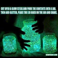 Glitter lantern ..