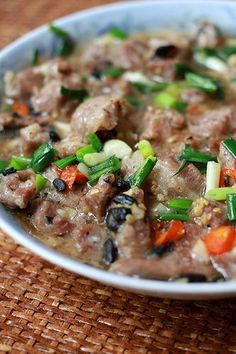 Mochachocolata-Rita: Steamed Pork with Black Beans and Garlic - Hong Kong Style, My Mom in Law's Recipe