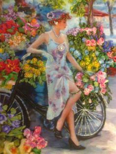 Chica con Bici