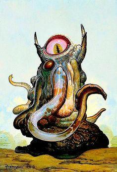 Abominación cíclope por Keith Parkinson