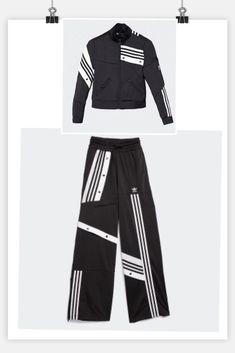 adidas Originals adidas Originals X Danielle Cathari Deconstructed Track Pants In Beige Khaki Beige from ASOS USA | Real Simple