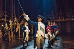 Today, Christopher Jackson makes his final performance in @HamiltonMusical. #RaiseAGlass (or a sword) and post your picture for the General to see using the hashtag #OneLastTime!