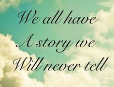 We all have à story