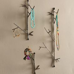 Metal Twig Wall Hooks | VivaTerra