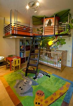 Love this themed room