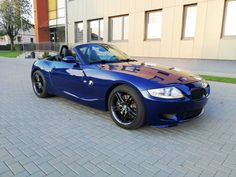 BMW M Roadster Traumfarbe Interlagosblau Vollausstattung Bmw Z4 M, Bobber, Cool Cars, Dream Cars, Design, Autos, Sports, Travel Trailers
