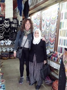 Meeting new people in Cappadocia, Turkey. (A. Carman)