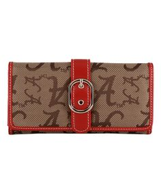 This Alabama Crimson Tide Woven Signature Wallet by Sandol is perfect! University Of Alabama, Alabama Football, Alabama Crimson Tide, Roll Tide, Wallet, Sports Teams, Glamour, Gift, Baby