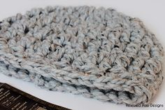 The Fiona Crochet Beanie - Free Pattern :: Rescued Paw Designs