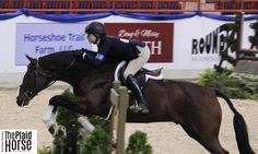 Victoria Colvin cleaned up tonight in the final Junior Hunter overall awards  photo taken by @dominique4142