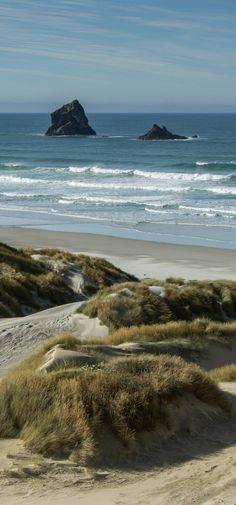 Sand Fly Bay, Otago Peninsula , South Island, New Zealand
