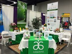 Arbonne display : Anne-Sophie Bourgeois pour infos