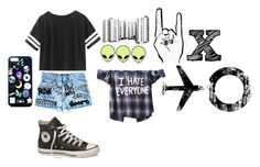 """""""Untitled #549"""" by cath1144 ❤ liked on Polyvore featuring Converse"""