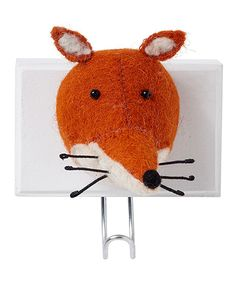Look what I found on #zulily! Fiona Walker England Fox Head Hook by Fiona Walker England #zulilyfinds