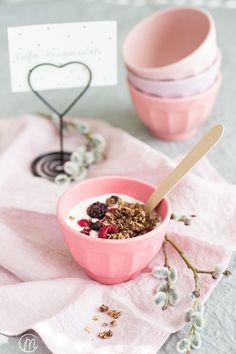 Kaffee-Knuspermüsli * coffee granola * kaffee granola * selbstgemachtes müsli * Marylicious