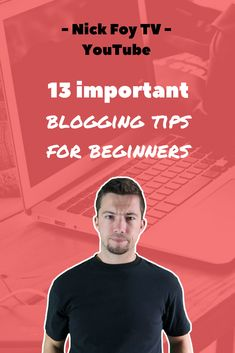 13 Important Blogging Tips for Beginners. I publish daily videos on YouTube for bloggers and marketers covering advanced marketing strategies. We dive into websites, social media, and online business like selling digital courses. Click to see today's best blogging tips #blogger