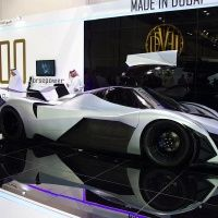 It does exist! 5,000HP, 348MPH Devel Sixteen supercar spotted in the open