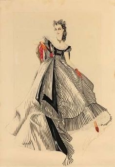 Unused Gone With The Wind design