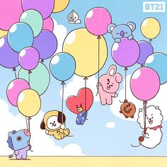 Image shared by ឆលិន ✩ 𝒞𝐿. Find images and videos about kpop, bts and van on We Heart It - the app to get lost in what you love. Bts Bangtan Boy, Jimin, Anime Disney, Otaku, Bt 21, Line Friends, Bts Chibi, Bts Lockscreen, Bts Group