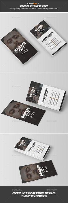 224 Best Barber Business Cards Images In 2019 Barber Business