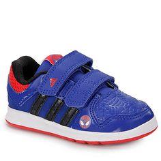Tênis Infantil Spider-Man Adidas LK CF - 18 ao 25 - Azul