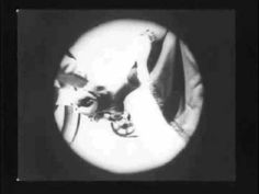 Continuity editing in G. A. Smith's 'As Seen Through a Telescope' (1901) helped to establish film's grammar with its cuts between point of view close-ups framed in iris shots to represent the view through the telescope, and shots of the protagonist's reaction to what he sees.