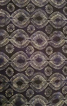 black and white batik Ethnic Patterns, Pretty Patterns, Textile Patterns, Color Patterns, African Patterns, Motifs Textiles, Textile Prints, Textile Art, Batik Pattern