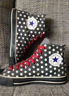 Converse CT All Star Hi Gr. 41 Special Edition Polka Dots 1W761 Grunge Punk