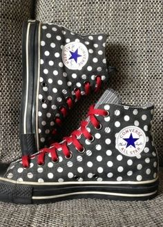 Converse CT All Star Hi Gr. 41 Special Edition Polka Dots 1W761 Grunge Punk