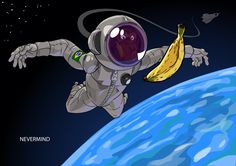 Astronaut Chimp by mendigo-amigo on DeviantArt