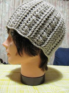 A Beautiful Ramble: Urban Shells Beanie - Free Crochet Pattern!