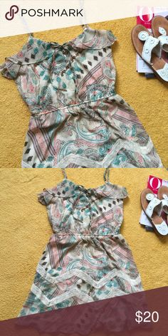 Want and Need •Want and Need Dress Sz M •Jack Rogers Sandals (Not On Sale) Want and Need  Dresses Mini