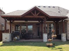 Texas Covered Patios | Published September 21, 2012 At 3564 × 2666 In Patio  Cover