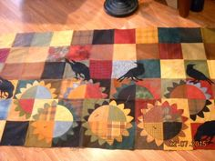 sew what's new? from Bonnie Hunter mystery quilt