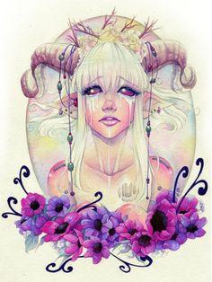 The Tears of the Faun Author: Elisa Serio (her Tumblr)