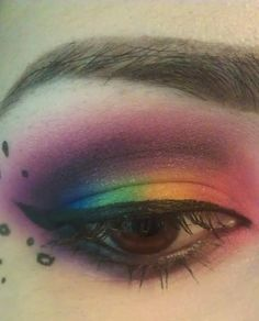 Rainbow eye by zylazoe.tumblr.com/