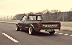 Volkswagen MK1 Rabbit Pickup aka CADDY.