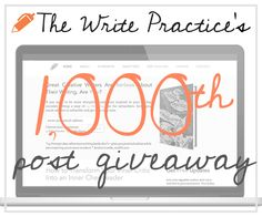 To show our huge appreciation for you, dear readers, we're giving away a little of everything from The Write Practice vault. Check out the prizes and enter below.  Note: If you already own any of these, I'll send you another prize of equal value.  In addition, we'll also send you tips to become a better writer. You can unsubscribe at any time. The Scribbler Prize: eBooks ($28 value)  Let's Write a Short Story – our highly rated guide on the process of writing, publishing, and making a career out of short stories, which recently was the #1 bestselling reference book on Amazon. 15 Days to Write and Submit a Short Story – the companion workbook to Let's Write a Short Story, which will walk you through the publication process. 14 Prompts – 14 unconventional writing prompts that will inspire you to quit procrastinating and start your writing adventure now. Show Off Anthology – the top 10 stories from The Write Practice short story writing contest. Hands – the highly-rated short story by Joe Bunting.  The Author Prize: Writing and Publishing Courses ($104 value)  The Twitter Challenge Pack – Grow your readership by using the second most popular social media platform in the world. 100 new followers guaranteed! Class In Session – A video-course on how to write, read, and publish short stories. Build the foundation of your writing career here.  The Grand Prize ($429 value)  The Story Cartel Course – An 8-week course that will teach you everything you need to know to be a professional author in the 21st century, from self-publishing to networking to writing a great book. The Twitter Challenge Pack Course Class In Session: Short Story Writing Course Let's Write a Short Story eBook 15 Days to Write and Submit a Short Story eBook 14 Prompts eBook Show Off Anthology eBook Hands eBook  To qualify, just answer the simple question below and enter your email address.