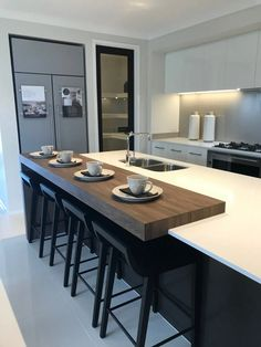 15 kitchen diner extension design ideas you will want in your home page 1 Kitchen Design Software, Kitchen Room Design, Modern Kitchen Design, Kitchen Decor, Open Plan Kitchen Dining Living, Open Plan Kitchen Diner, Living Room Kitchen, Kitchen Diner Extension, Küchen Design