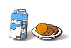 Milk & Cookies Pins