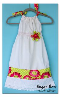Shirred Pillowcase Dress